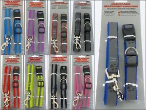 Urban-Living-Haustier-Hund-Reflektierende-Halsband-klein-mittel-120cm-lang-Kabel