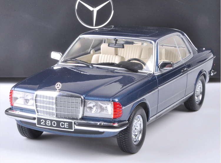 1 18  original manufacturer, Mercedes-Benz 280CE alloy car model Gift collection