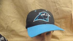 Image is loading Vtg-Carolina-Panthers-NFL-Snapback-Hat-Cap-NWOT 2320babe5