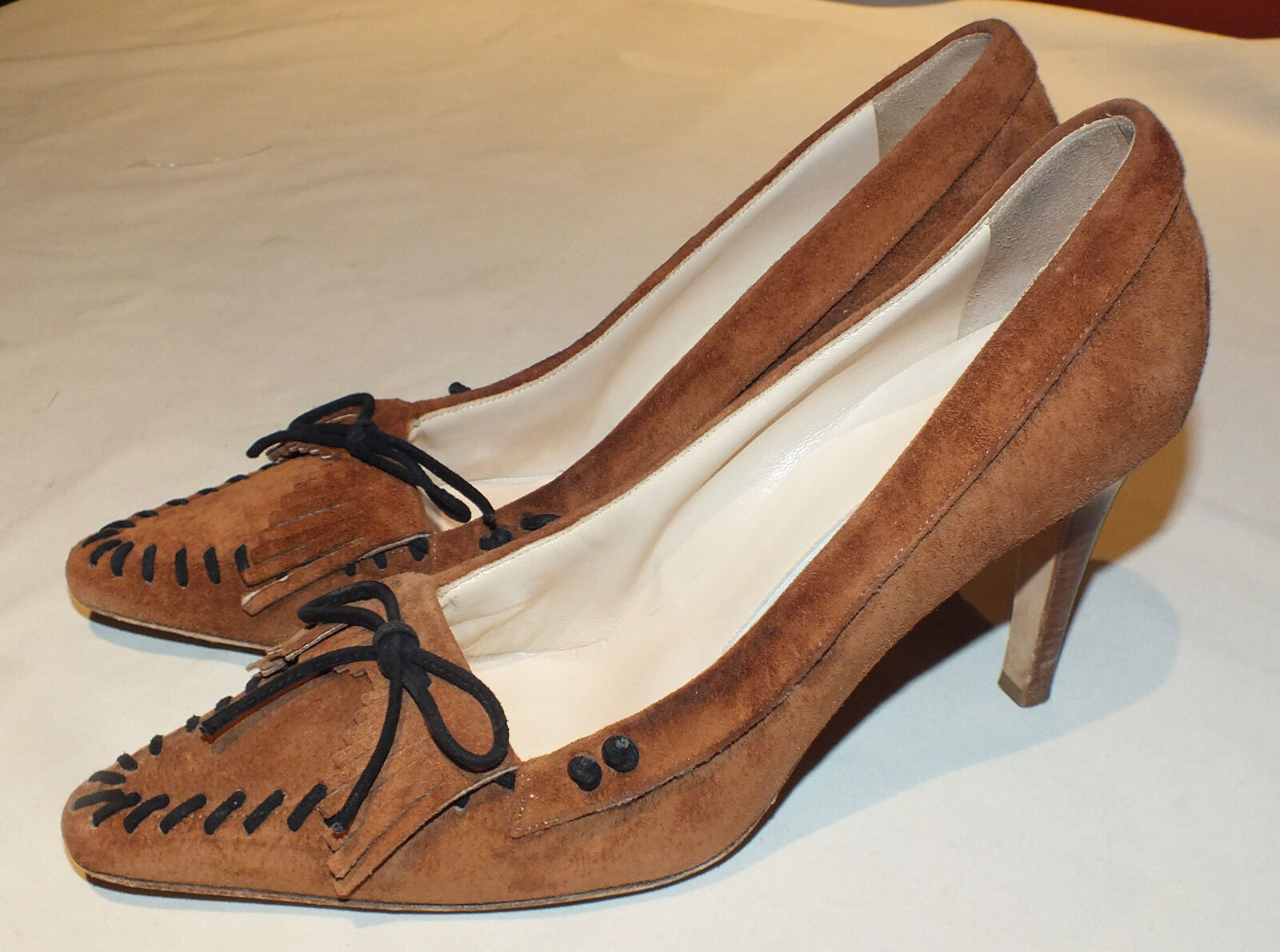 Nice Manolo Blahnik Ladies shoes Heels Pumps Sz. 38 US 7.5  Used