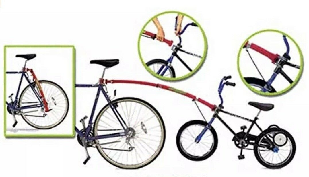 Trail-Gator tow bar - attach kids  bike to adult bikes - red trailer bar  online retailers