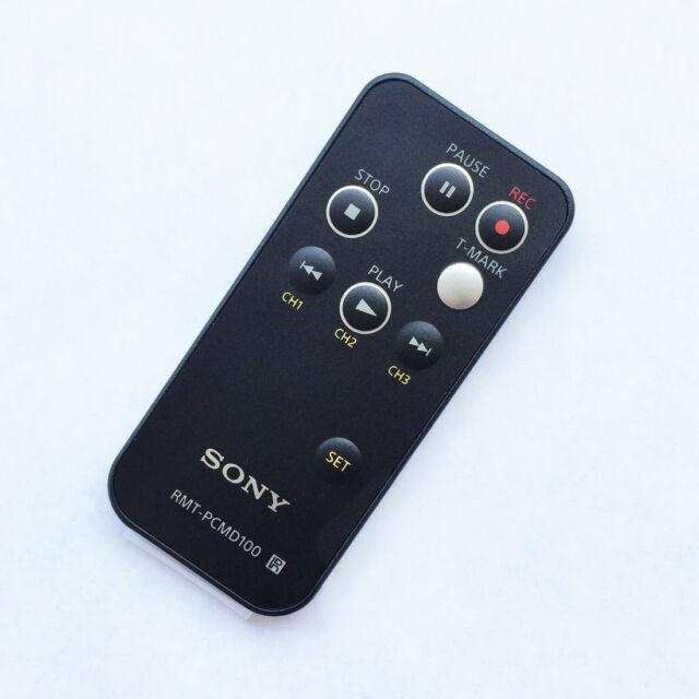 Original SONY PCM-D100 Voice recorder remote control RMT-PCMD100