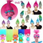 Movie Trolls Poppy Elf/Pixie Wigs Cospaly Party Props Adult/Kid Size Halloween