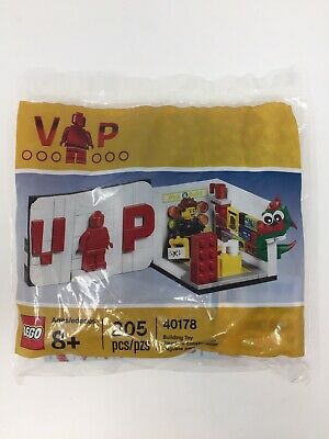 LEGO 40178 VIP Limited Promo Lego Store Poly Bag Brand New Sealed