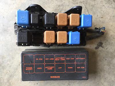 96 97 98 1996-1998 NISSAN PATHFINDER RELAY FUSE BOX | eBay