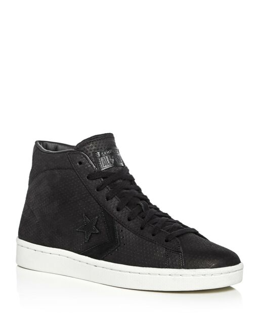 ef942782e918 Converse PL 76 Pro Leather Black White Leather Men Casual Shoes SNEAKERS  155647C 10.5