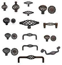 Cabinet Pull Drawer Handle Birdcage Knob Kitchen Hardware Oil Rubbed Bronze