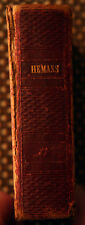 Poetical Works of Mrs. Felicia Hemans c. 1839 Henry F. Anners Vol. I