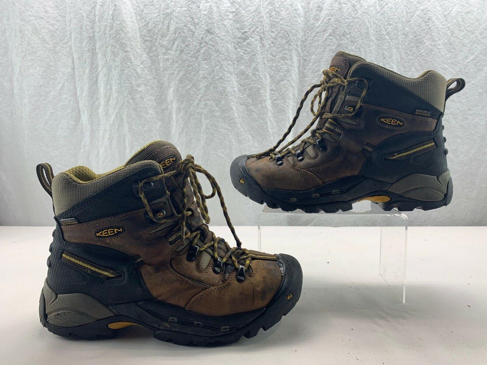KEEN Utility 1007025 Men's Pittsburgh Steel Toe WP EH Work Boot Slate Black 8