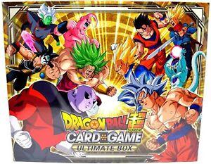 Dragon Ball Super Ultimate Box Factory Sealed DBS TCG English
