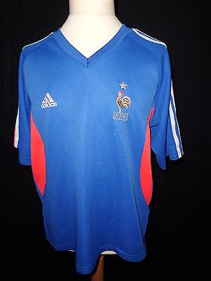 Camiseta de Fútbol Vintage Equipo de Francia Fútbol Tamaño 12 Año Adidas Bl | eBay
