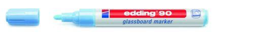 edding 90 Glasboard-Marker Rundspitze Strichbreite 2-3 mm Farbe wählbar