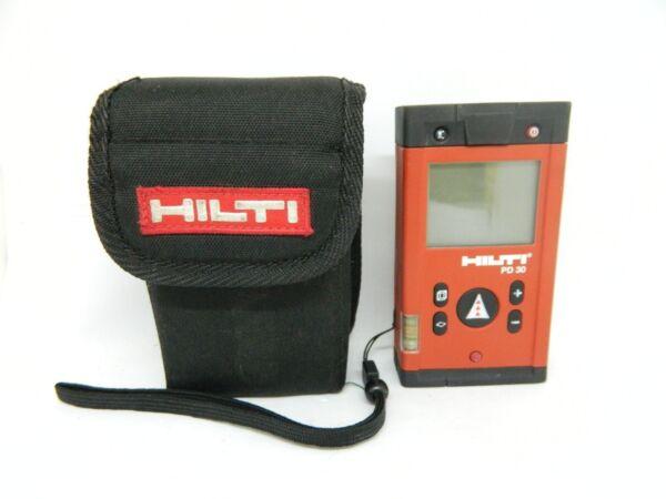 Hilti Laser Entfernungsmesser Pd 30 : Hilti pd30 laser range meter with pouch pd 30 ebay