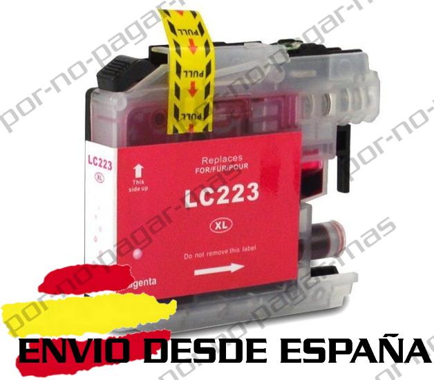 1 CARTUCHO COMPATIBLE MAGENTA NonOem BROTHER LC223 MFC-J5320DW MFCJ5320DW