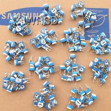 1001m 130pcs 13 Values Rohs Variable Resistor Potentiometers Assorted Kit