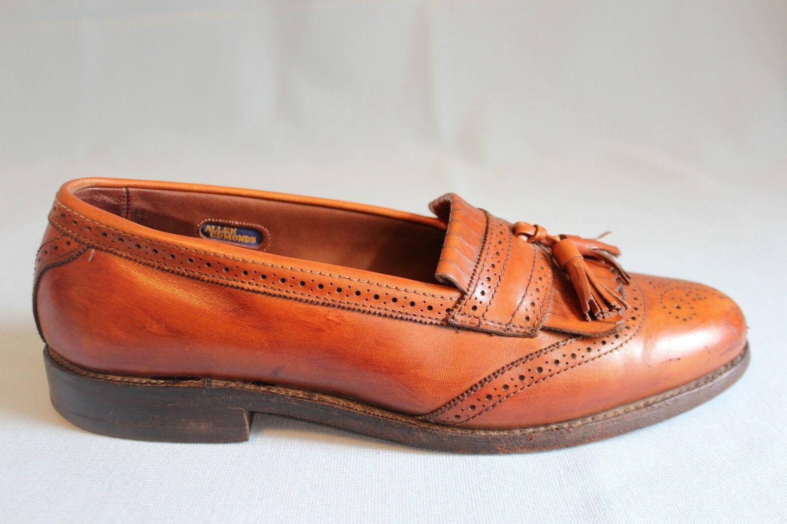 Allen Edmonds Bridgeton Brown Loafer Men's Size 8.5 Tassel & Kiltie Made in USA