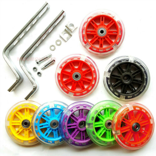 "Luminous Children Bicycle Flashing Training Wheel Kid Bike Tyre for 12-20/"" Wheel"