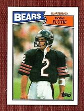1987 Topps Doug Flutie Chicago Bears #45 Football Card