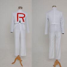 Pokemon Team Rocket James Cosplay Costume Jacket Outfit Suit Uniform