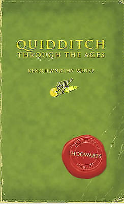 Comic Relief: Quidditch Through the Ages (Harry Potter's Schoolbooks) by Kennilw
