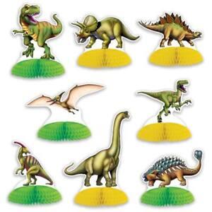 Dinosaur-Mini-Centerpiece-Set-8-Pack-Dinosaur-Birthday-Party-Table-Decoration