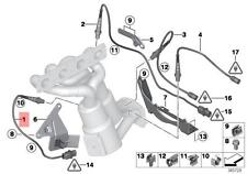 Genuine BMW E81 E82 Black Lambda Probe Oxygen Sensor 550MM OEM 11787570104