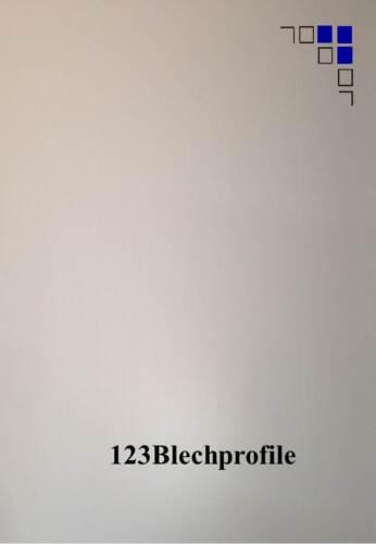 Alublech 1+1,5+2+3mm eloxiert E6EV1 Länge 2m  Zuschnitt Blechstreifen Alu