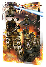 Dalek 3D INVASION Moving Poster Doctor Who AWESOME GRAPHICS EXTERMINATE!  #UK132