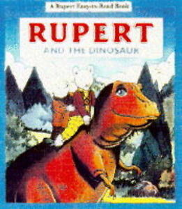 Rupert-and-the-Dinosaur-Rupert-Easy-to-Read-Very-Good-Book
