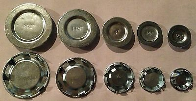 """100 pc lot New in Box Steel Knockout KO Seal Hole Covers 3//4/"""""""