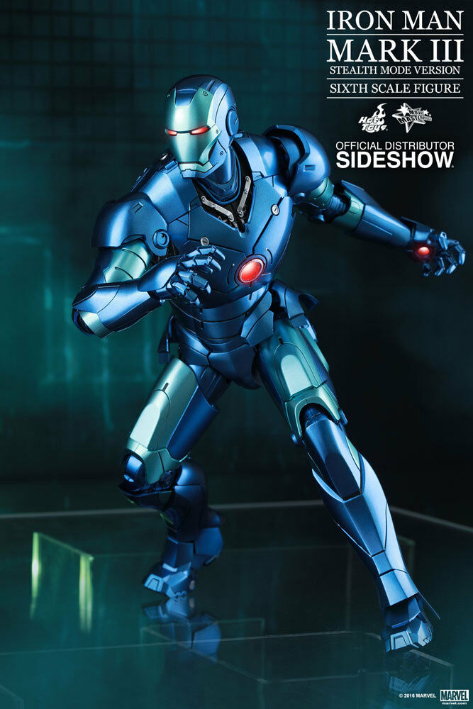 Marvel Iron Man Man Man Mark III Stealth Mode Sixth Scale Hot Toys Summer Exclusive 2015 18a70e