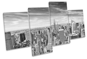 Image Is Loading New York City Black Amp White CANVAS WALL