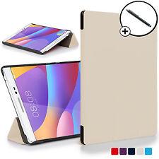 Bianco Pieghevole Smart Custodia Cover Huawei Honor Pad 2/MediaPad T2 8.0 Pro