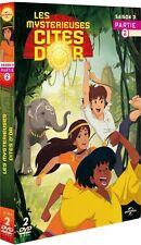 """COFFRET 2 DVD """"Les Mystérieuses Cités d'Or - Saison 3 - Partie 2"""" ( NEUF )"""