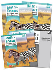 Grade 5 Math in Focus Homeschool Kit Semester 1 & 2 Singapore 5th Curriculum