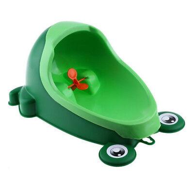 Kinder Töpfchen Toilettentrainer Lerntöpfchen Pee Urinal Badezimmer Grün WYS