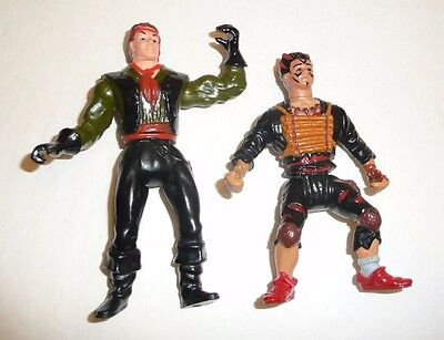 Vintage 1991 Fox/'s Peter Pan and the Pirates Captain Hook Action Figure Loose Incomplete