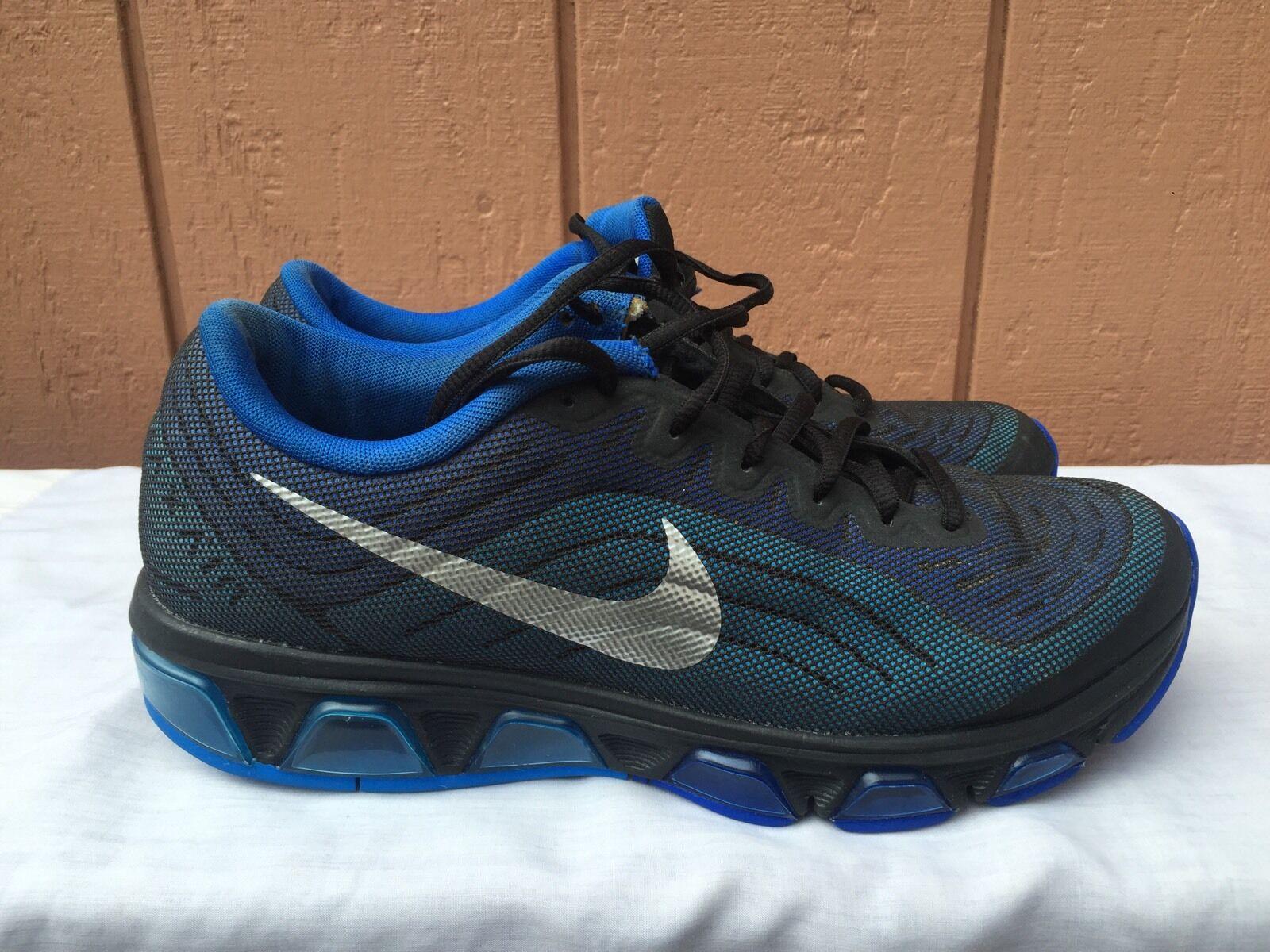 Excelente condición usada Nike Max Tailwind 6 Zapatillas Air Azul 621225 003 para Hombre US 8.5 EUR 42