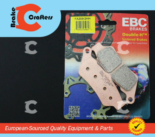 EBC plaquettes de freins fa209//2hh Essieu Arrière Adapte Dans triumph rocket III Classic 07-09