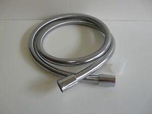 Mit Verdrehschutz Reine WeißE 1,25m-1,75m Erfinderisch Brauseschlauch Chrom Duschschlauch Wie Isiflex