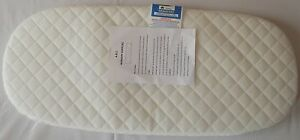 DELUXE QUILTED PRAM SAFETY MATTRESS Removable Cover iCandy Peach Carry Cot
