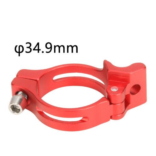 31,8//34,9mm Rennrad Fahrrad Umwerfer Clamp Adapter Ring Aluminium Legierung