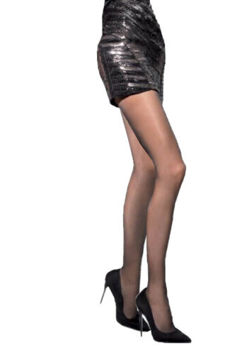 Satin Gloss Effect 20 Den Tights Adrian Small Medium Large New