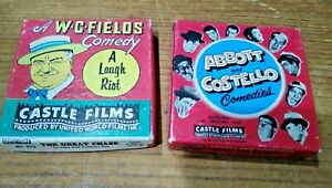 LOT OF 2**WC FIELDS-A LAUGH RIOT #813 & ABBOTT & COSTELLO COMEDIES #818**