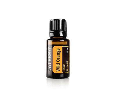 doTERRA Wild Orange Essential Oil (15 mL) - New & Sealed - FREE Shipping
