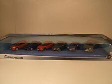 AUTO SET FIAT, ALFA ROMEO,VOLVO, BMW,PORCHE, AUDI 1:72 CARARAMA. NEW IN BOX.