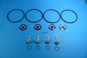Alpina-Reparatursatz-Felgendeckel-4-Felgen-NUR-BMW-E30-mit-4-Loch-Felgen