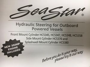 Seastar Hydraulic Steering Installation Manual