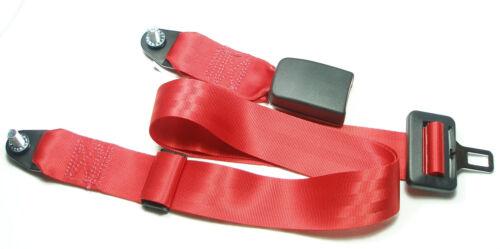 Beckengurt Mercedes W 113 Punkt Sicherheitsgurt 2 Seatbelt Pagode rot