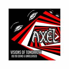 AXEL - Visions of Tomorrow (NEW*HEAVY METAL/NWOBHM*OSTROGOTH*PICTURE*CROSSFIRE)
